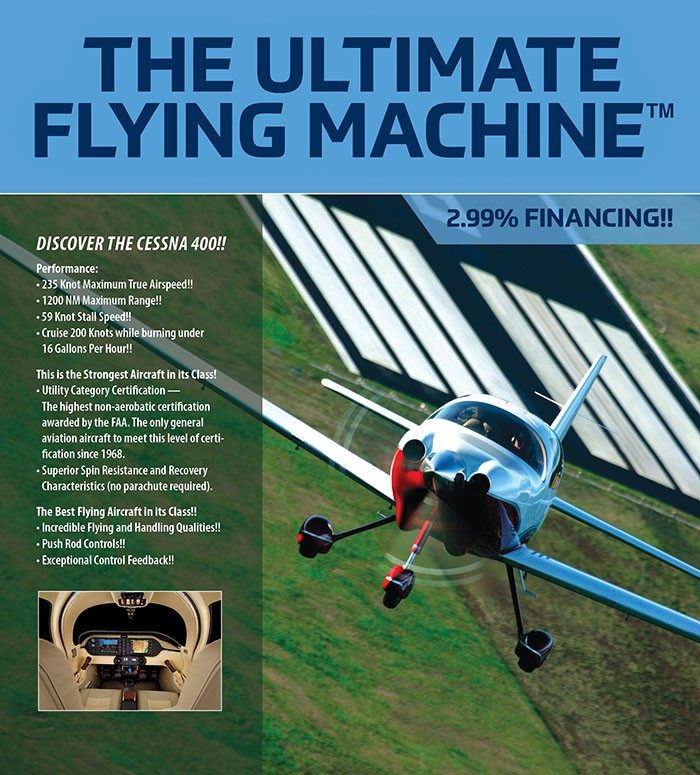 The ultimate flying machine sm